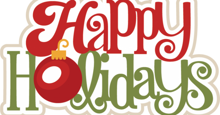 Tuesday, December 12th @ 4pm: Library Holiday Party!!