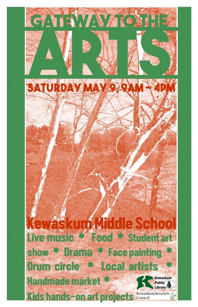 Arts Festival Poster 2015