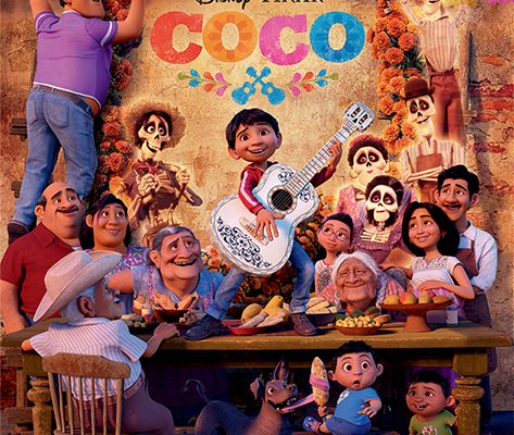 Monday Afternoon Movie: Coco!